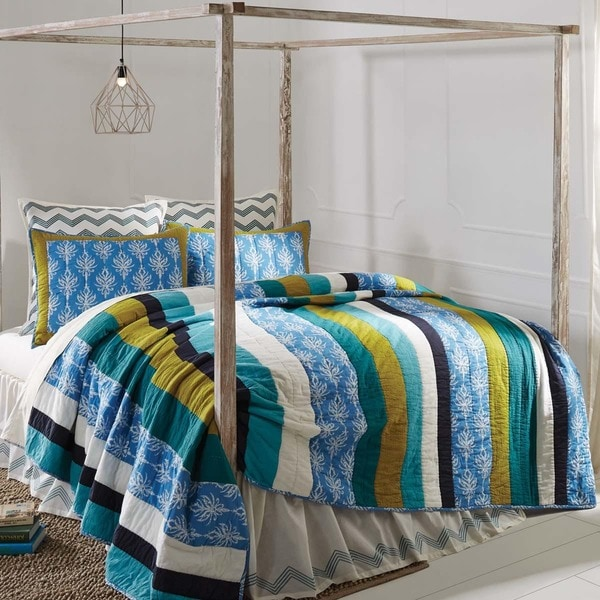 f141a1538b82 Shop Laguna Cotton Quilt (Shams Not Included) - Free Shipping Today ...