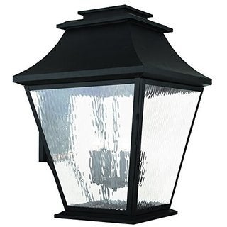 Livex Lighting Hathaway Black 6-Light Outdoor Wall Lantern