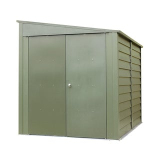 Trimetals Galvanized Steel Heavy-duty Motorcycle Storage Shed