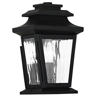 Livex Lighting Hathaway 1-light Bronze Outdoor Wall Lantern