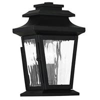 Livex Lighting Hathaway 1-light Bronze Outdoor Wall Lantern