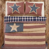 Independence Cotton Quilt (Shams Not Included)