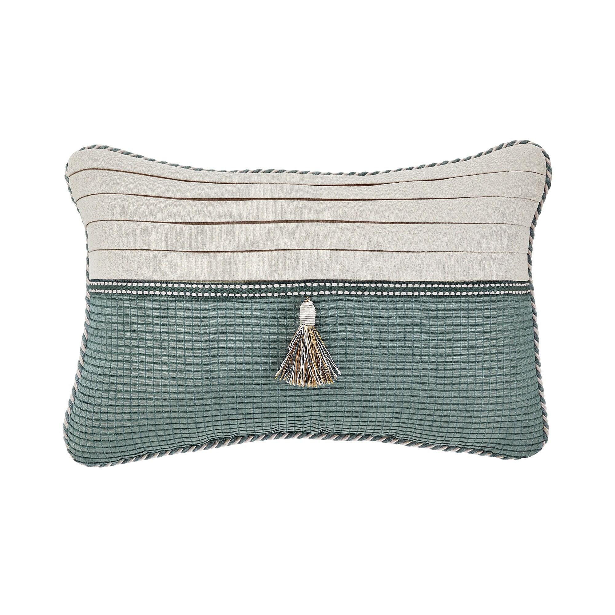 CROSCILL Beckett Boudoir Pillow 18X12