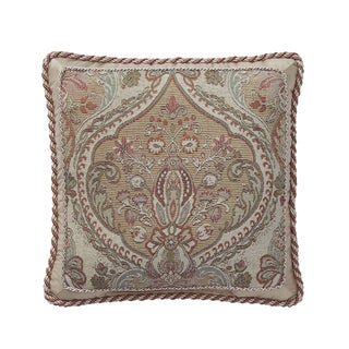 CROSCILL CAMILLE SQUARE Decorative Throw Pillow 18-inches