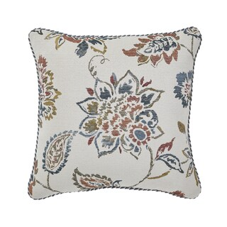 CROSCILL BECKETT SQUARE Decorative Throw Pillow 18-inches