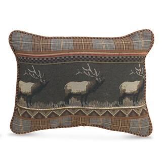 CROSCILL CARIBOU Boudoir Decorative Throw Pillow (20x15)