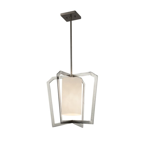 Justice Design Group Clouds Aria 1-light Brushed Nickel Chandelier