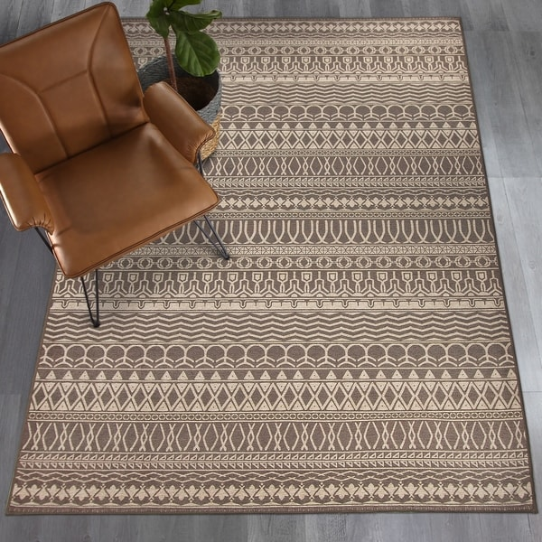 Shop Ruggable Washable Stain Resistant Runner Rug Cadiz