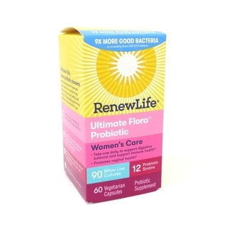 Renew Life Ultimate Flora Women's Complete Probiotic 90 Billion (60 Capsules)
