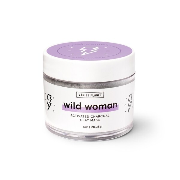 Shop Vanity Planet Wild Woman Activated Charcoal Clay Mask