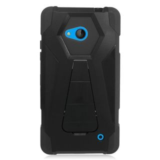 Insten Hard PC/ Silicone Dual Layer Hybrid Case Cover with Stand For Microsoft Lumia 640