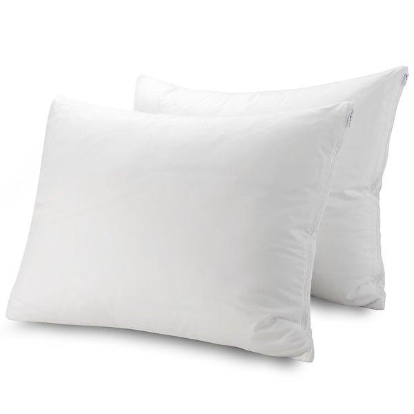 Guardmax Bedbug Proof/ Waterproof Zippered Pillow Protector (Set of 2)