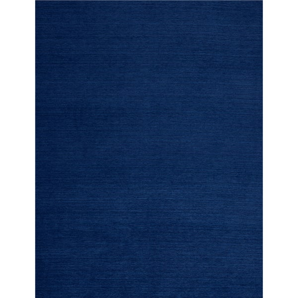 Ruggable Washable Solid Navy Blue Replacement Indoor