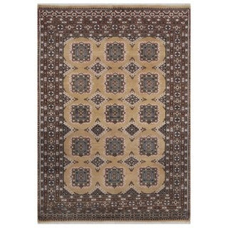 Herat Oriental Pakistani Hand-knotted Bokhara Wool Rug (4'6 x 6'4)