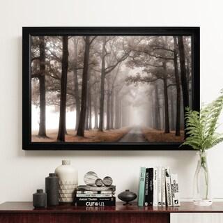 Misty Road - Black Frame