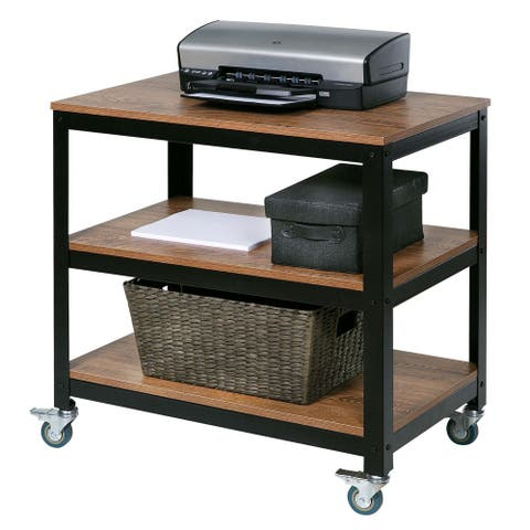 Steel/Wood Loft Companion Shelf