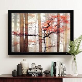Orange Awakening - Black Frame