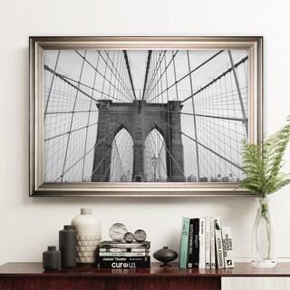 Brooklyn Bridge -Silver Frame