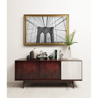 Brooklyn Bridge - Gold Frame