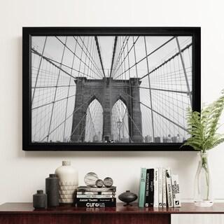 Brooklyn Bridge - Black Frame