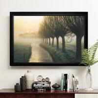 Willow's Lane - Black Frame