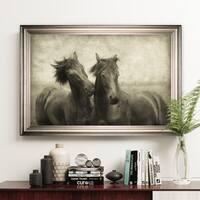 Horses Don't Whisper -Silver Frame