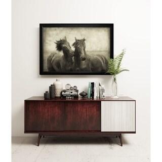 Horses Don't Whisper - Black Frame