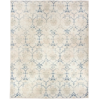 RUGGABLE Washable Indoor/ Outdoor Stain Resistant Pet Area Rug Leyla Creme  Vintage (8u0027