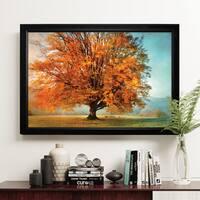 Autumn's Passion - Black Frame