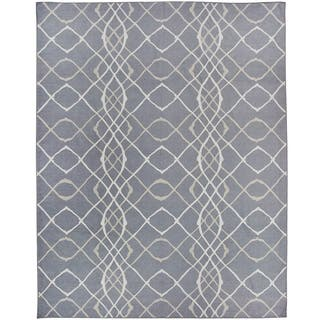 RUGGABLE Washable Indoor/ Outdoor Stain Resistant Pet Area Rug Amara Grey (8' x 10') - 8' x 10'|https://ak1.ostkcdn.com/images/products/15410204/P21866900.jpg?impolicy=medium