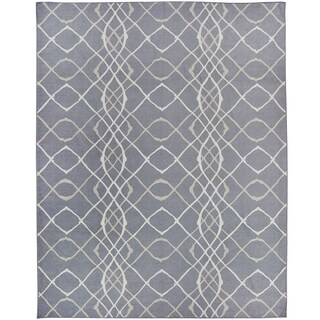 RUGGABLE Washable Indoor/ Outdoor Stain Resistant Pet Area Rug Amara Grey - 8' x 10'