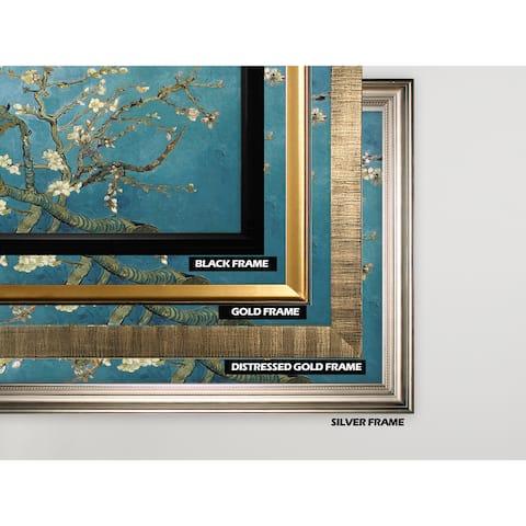 Almond-Blossom -by Van Gogh - Gold Frame