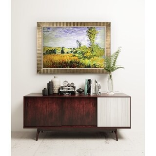 LANDSCAPE AT VETHEUIL -Antique Gold Frame