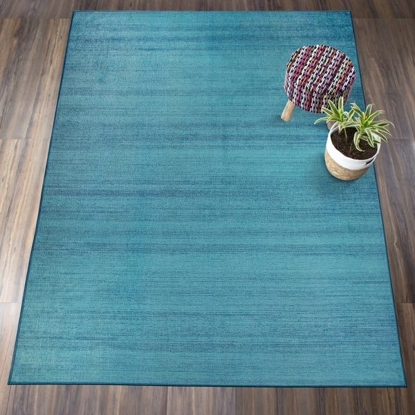 Nuloom Washable Rugs: Shop RUGGABLE Washable Stain Resistant Pet Area Rug Solid