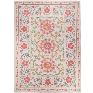 RUGGABLE Washable Stain Resistant Pet Runner Rug Suzi Coral - 5' x 7'