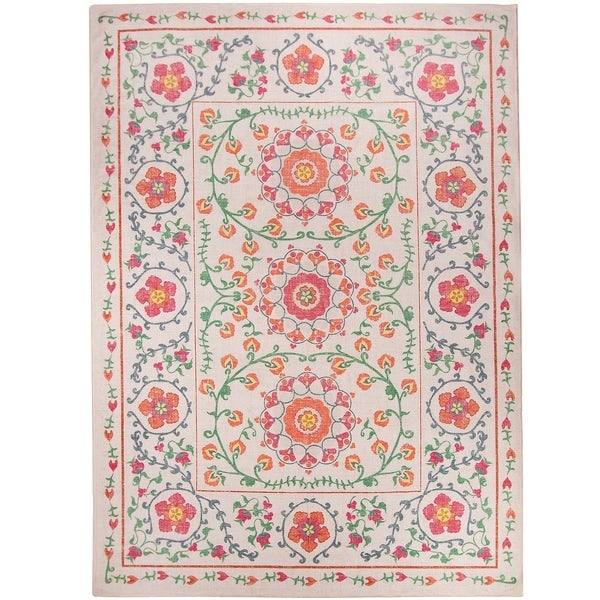 Dog Proof Throw Rugs: Shop RUGGABLE Washable Stain Resistant Pet Runner Rug Suzi