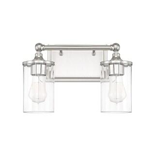 Capital Lighting Camden Collection 2-light Polished Nickel Bath/Vanity Light