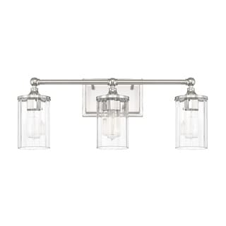 Capital Lighting Camden Collection 3 Light Polished Nickel Bath/Vanity Light
