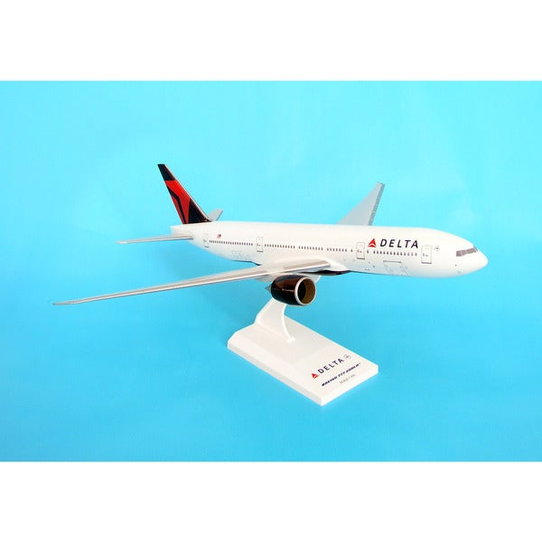 Sky Marks Delta Airlines 777-200 2007 Livery Model Building Kit, 1/200 Scale