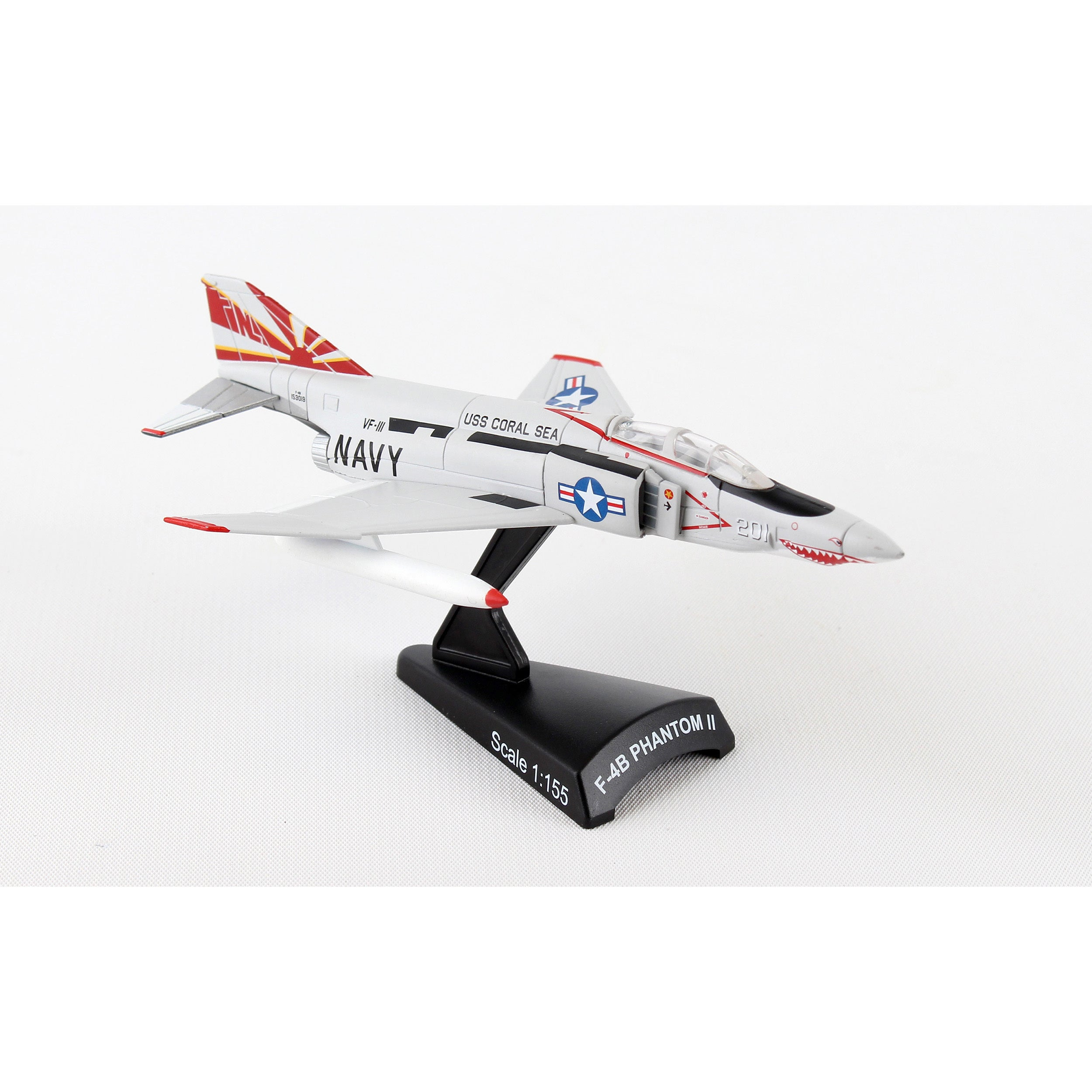 Twice Daron Worldwide Trading Postage Stamp F-4B Phantom ...