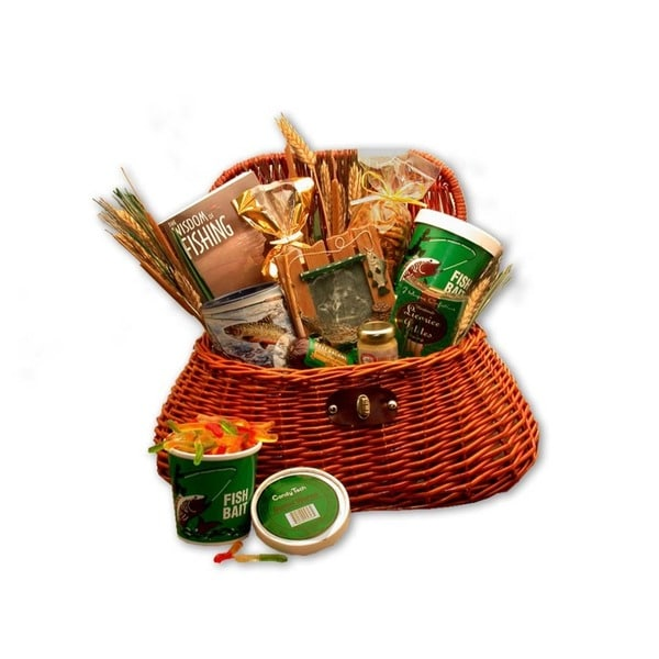 Fisherman's Creel Large Gift Basket