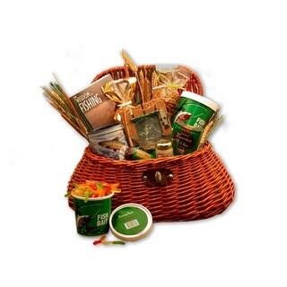 Fisherman's Creel Large Gift Basket