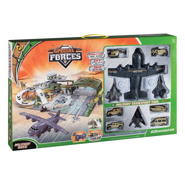 Daron Special Forces Military Base Playset w Accessories
