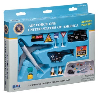 Air Force One United States of America Airport Playset