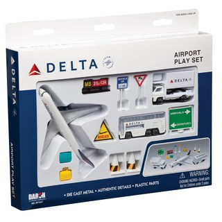 Delta Airlines 12 Piece Play Set