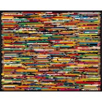 White Mountain Puzzles Pencil Collage - 1000 Piece Jigsaw Puzzle