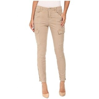 J Brand + Theory Houlihan Mid-Rise Cotton Cargo Pants