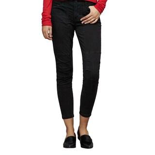 J Brand Women's Ginger Size 28 Black Cotton Utility Pants