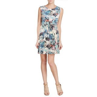 French Connection Women's Floral Cap-sleeve Dress