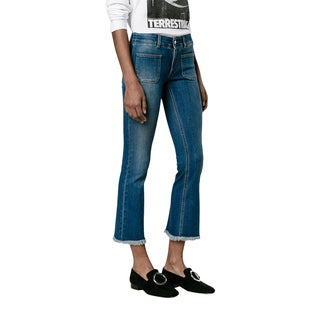 Stella McCartney Kick Flare Dark Wash Jeans